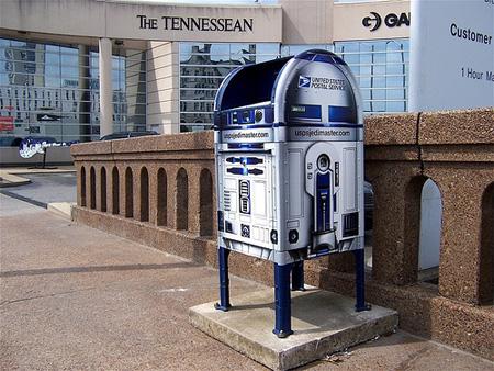 Star Wars R2-D2 Mailbox