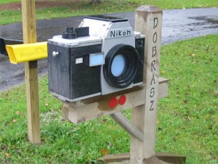 Nikon Camera Mailbox
