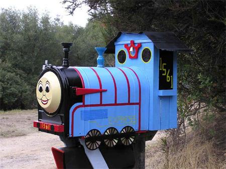 Thomas Train Mailbox