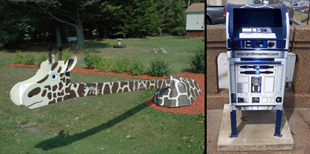 17 Unusual and Creative Mailboxes