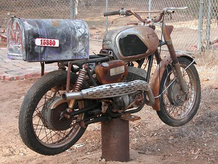 Motorcycle Mailbox