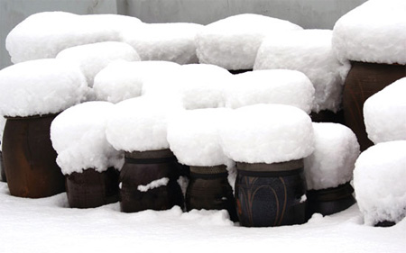 Snow Stools