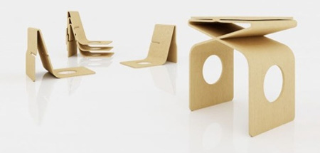 Za Stackable Stools
