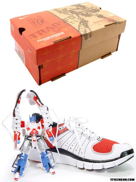 Nike Transformers Shoes