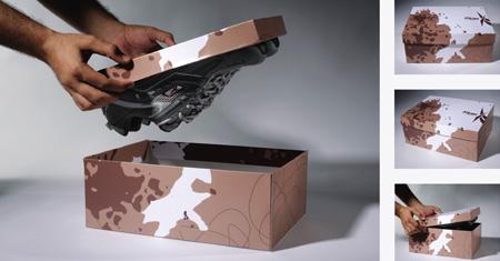 Reebok Exta Grip Packaging