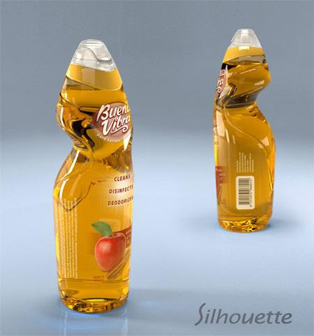 Silhouette Optimized Grip Bottle