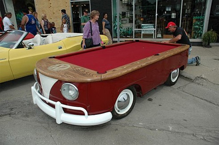 Mobile Pool Table