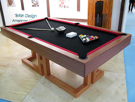 15 unusual and creative pool tables. Black Bedroom Furniture Sets. Home Design Ideas