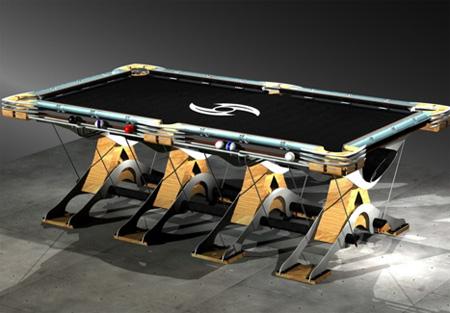 The Predator Pool Table