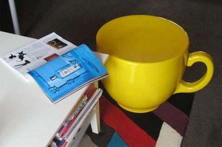 Tea Cup Stool