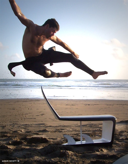 Surfboard Chair by Adam Scott 2