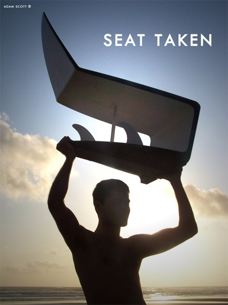 Surfboard Chair by Adam Scott 5
