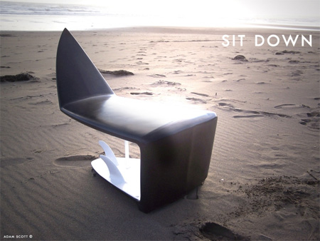 Surfboard Chair by Adam Scott 6
