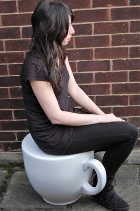 Tea Cup Stool by Holly Palmer 3