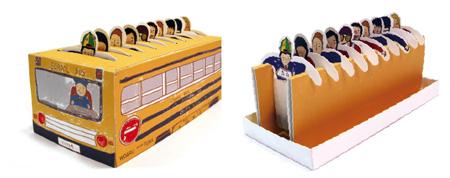 School Bus Tea Packaging
