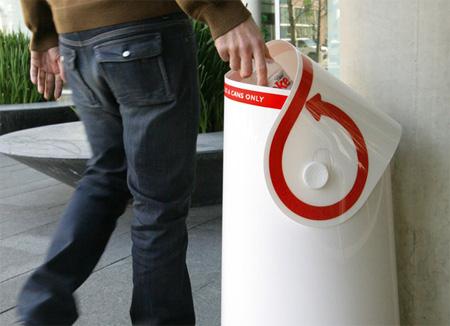 Coca-Cola Refresh Recycling Bin