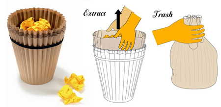 Fabriano Waste Paper Basket