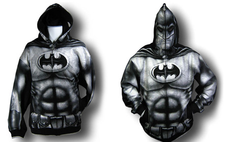 Batman Full Zip-Up Hoodie