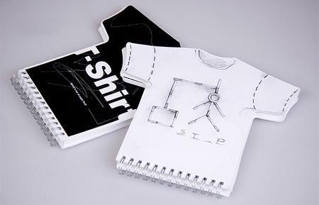 T-Shirt Sketchbook by Burak Kaynak