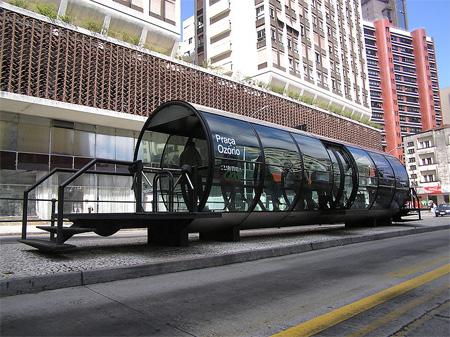 Curitiba Bus Stop