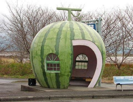 Watermelon Bus Stop