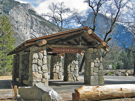 Yosemite Falls Trail Bus Stop