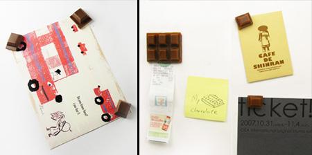 Chocolate Bar Refrigerator Magnet