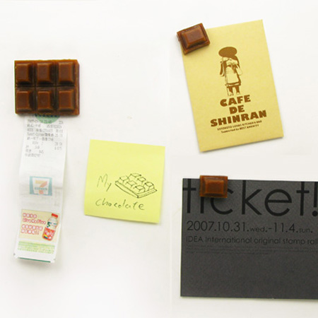 Chocolate Refrigerator Magnets 4