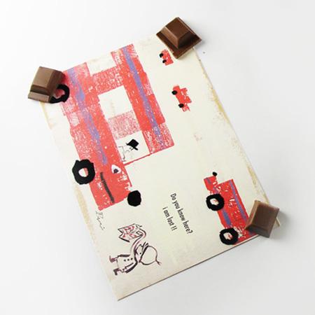 Chocolate Refrigerator Magnets 5
