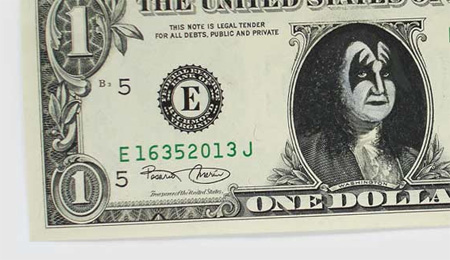 One Dollar Bill Art by Atypyk 3