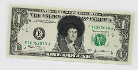 One Dollar Bill Art by Atypyk 5