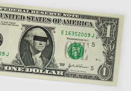 One Dollar Bill Art by Atypyk 8