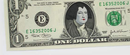 One Dollar Bill Art by Atypyk 9