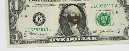 One Dollar Bill Art by Atypyk 11