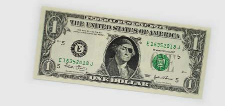 One Dollar Bill Art by Atypyk 12