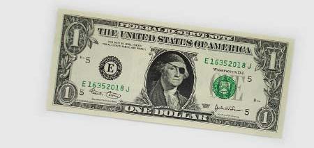 One Dollar Bill Art by Atypyk 12