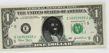 One Dollar Bill Art by Atypyk 13