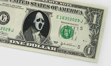One Dollar Bill Art by Atypyk 14