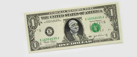 One Dollar Bill Art by Atypyk 16