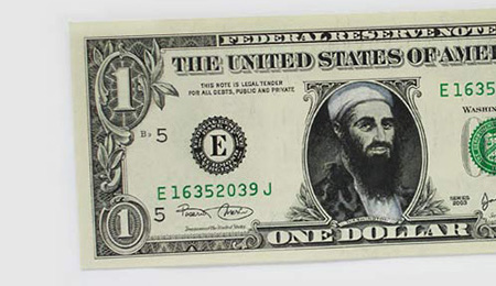 One Dollar Bill Art by Atypyk 19