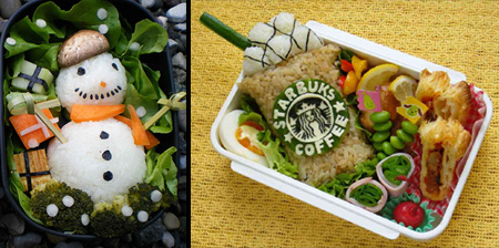 17 Amazing Bento Food Art Creations