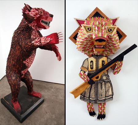 Animal Sculptures by AJ Fosik 5