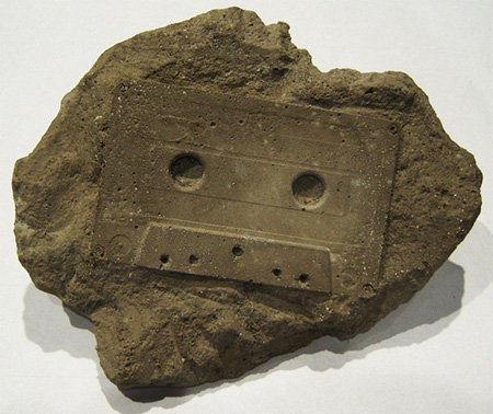 Cassette Tape Fossil