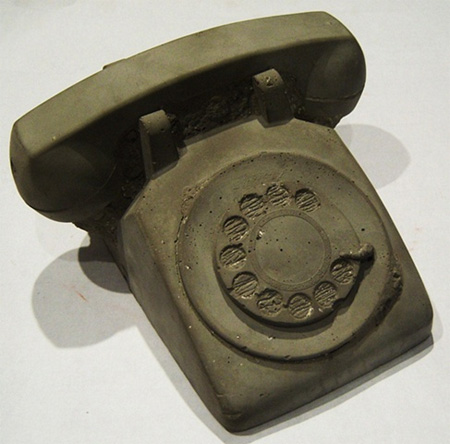 Rotary Dial Telephone Fossil