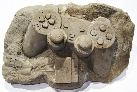 Playstation Controller Fossil