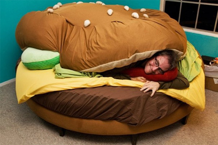 Hamburger Bed by Kayla Kromer 2