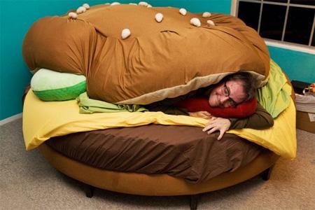 Hamburger Bed by Kayla Kromer 2