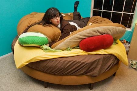 Hamburger Bed by Kayla Kromer 3
