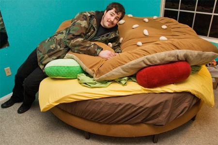 Hamburger Bed by Kayla Kromer 4