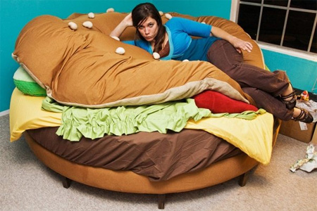 Hamburger Bed by Kayla Kromer 5